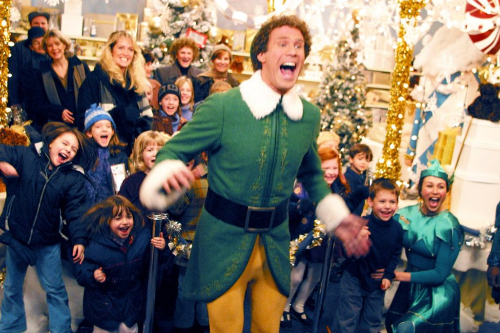 Elf: one of the best holiday movies ever
