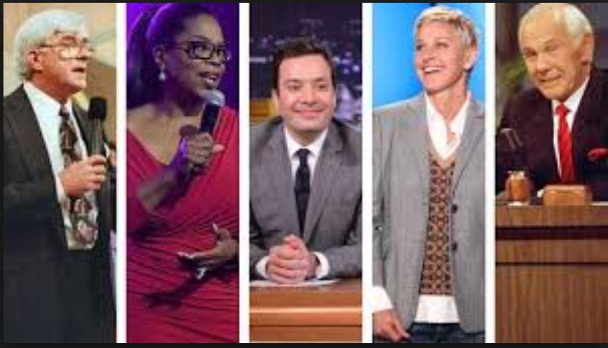 talk show hosts
