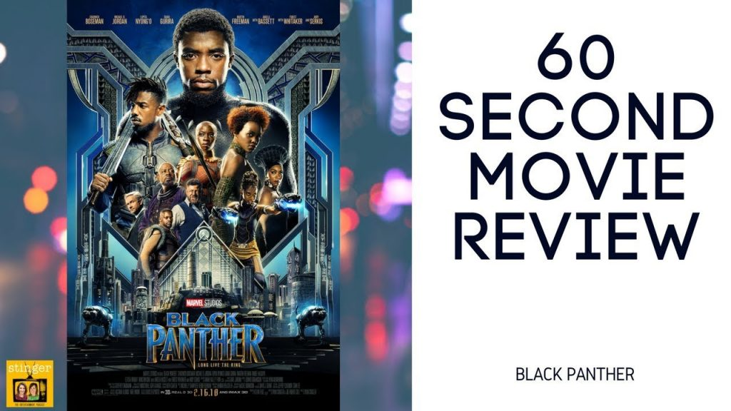 Black Panther movie review video