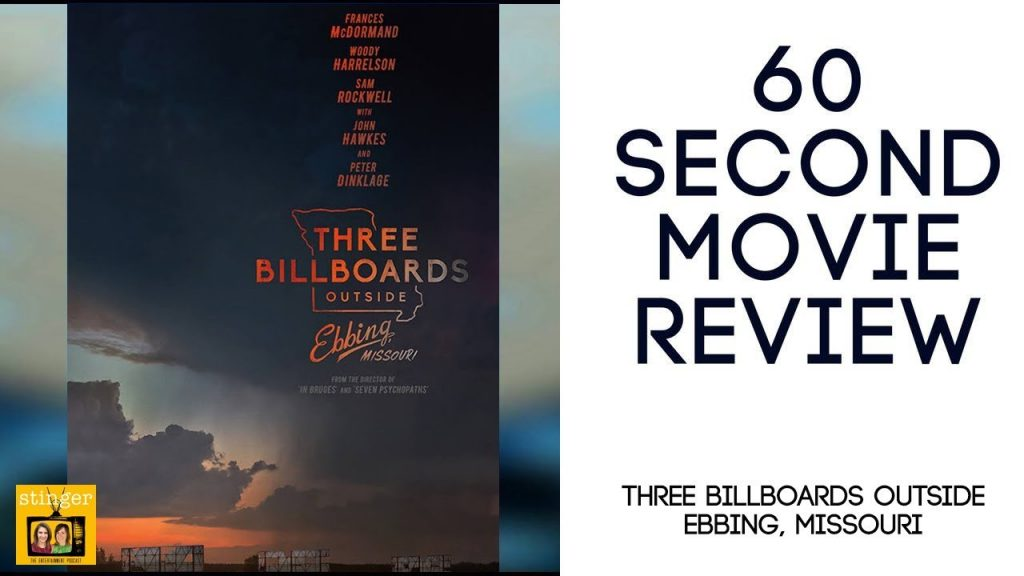 Three Billboards movie review video