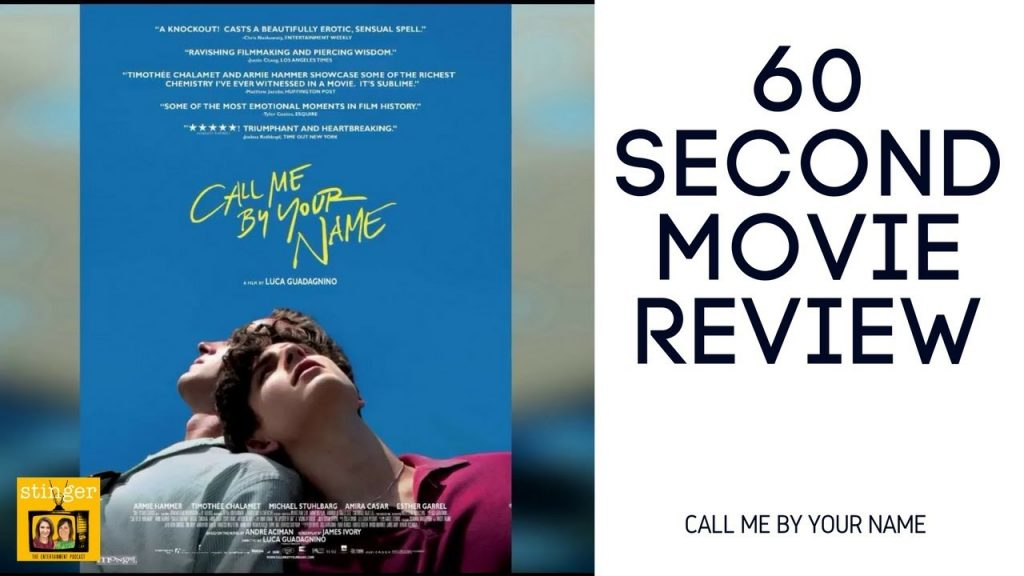 Call Me By Your Name movie review video