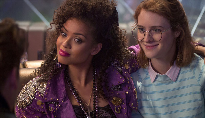 Kelly and Yorkie - scene from Black Mirror San Junipero