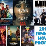 Summer movie posters