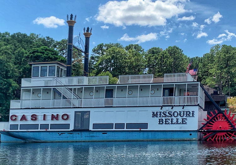 Missouri Belle Riverboat Casino from Ozark