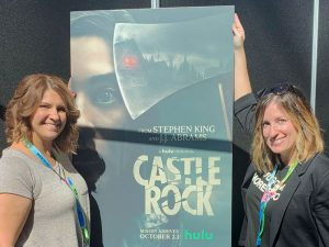 Shannon and Fadra at Castle Rock interviews.