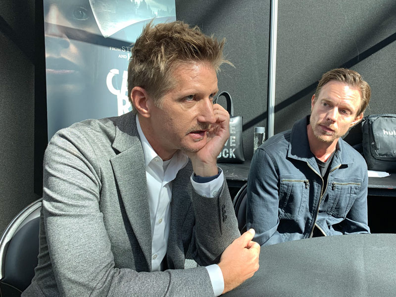 Paul Sparks and Matthew Alan