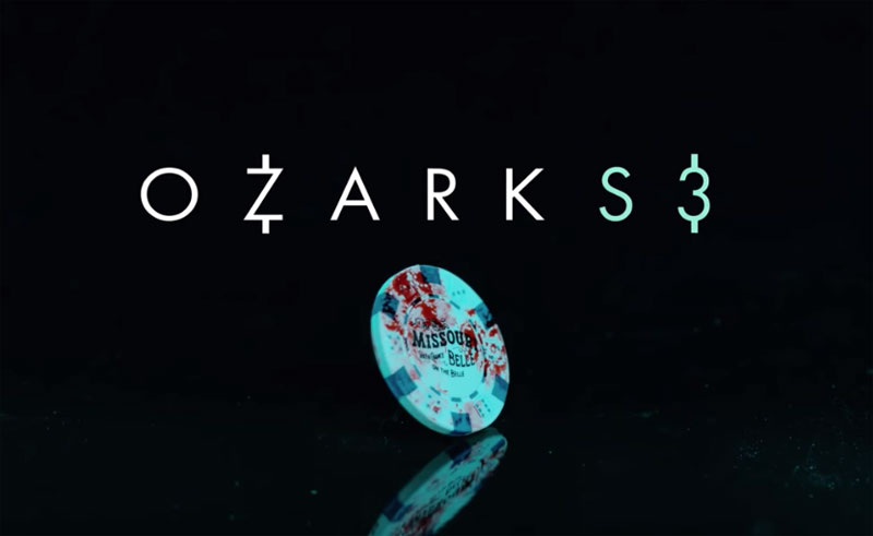Ozark S3 logo with casino chip