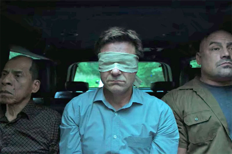 Marty being kidnapped in Ozark Season 3.