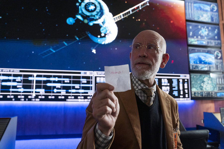 John Malkovich as Dr. Adrian Mallory; Photo credit: Aaron Epstein/Netflix